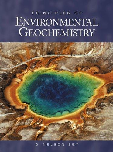 9780122290619: Principles of Environmental Geochemistry