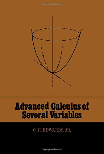 9780122325502: Advanced Calculus of Several Variables