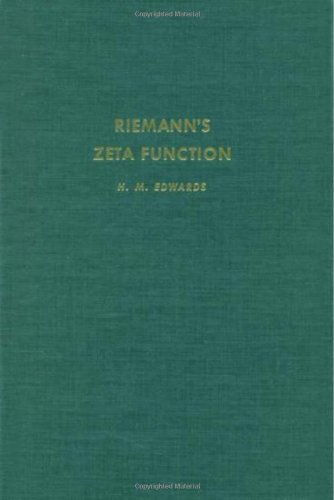 9780122327506: Riemann's Zeta Function, Vol. 58 (Pure and Applied Mathematics)
