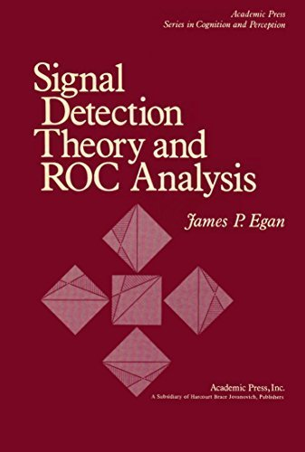 9780122328503: Signal Detection Theory and Receiver-operating Characteristics Analysis (Cognition and Perception)