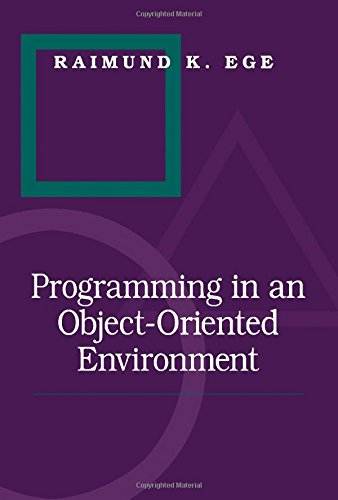 9780122329302: Programming in an Object-oriented Environment