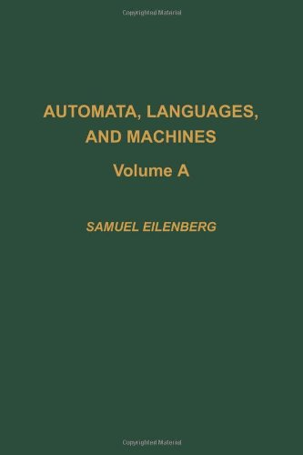 9780122340017: Automata, languages, and machines, Volume 59A (Pure and Applied Mathematics)