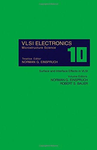 9780122341106: Very Large Scale Integration Electronics: Surface and Interface Effects in Very Large Scale Integration v. 10 (V L S I Electronics)
