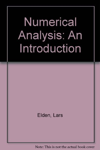 9780122364303: Numerical Analysis: An Introduction