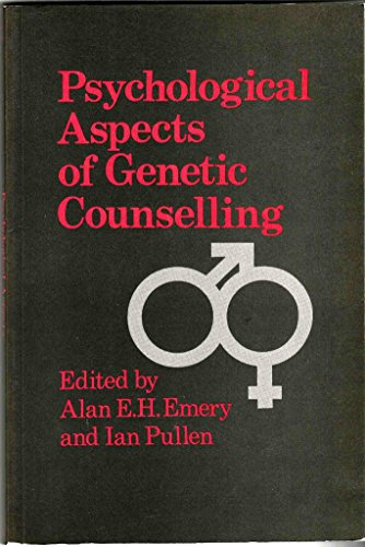 9780122382222: Psychological Aspects of Genetic Counselling