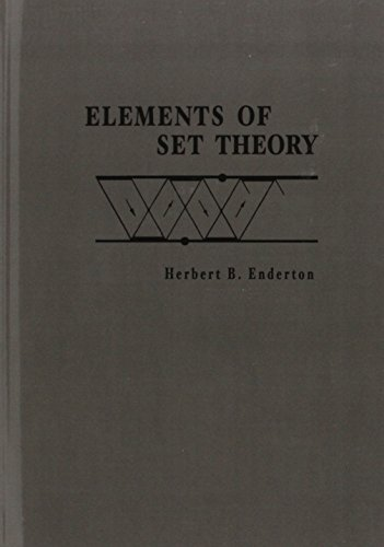 9780122384400: Elements of Set Theory
