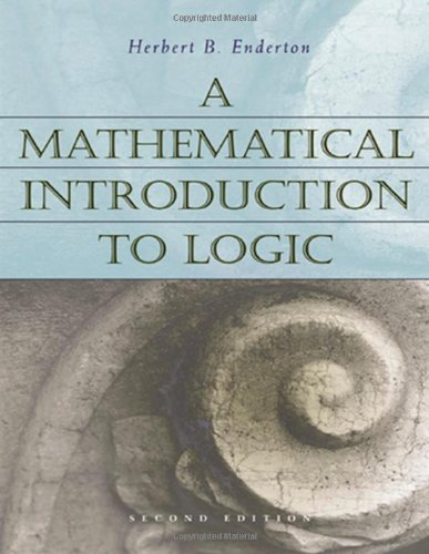 9780122384523: A Mathematical Introduction to Logic