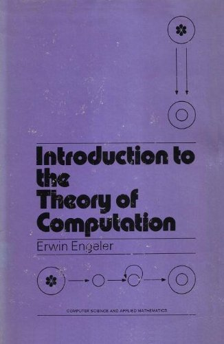 9780122392504: Introduction to the Theory of Computation (Computer science and applied mathematics)