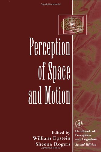 9780122405303: Perception of Space and Motion (Handbook Of Perception And Cognition)
