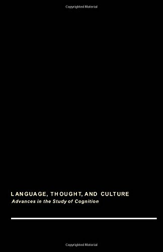 9780122419508: Child Discourse (Language, thought, and culture)
