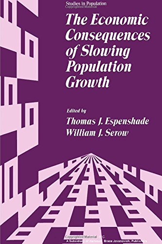 9780122424502: The Economic Consequences of Slowing Population Growth (Studies in Population)