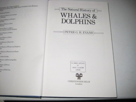 9780122442001: The Natural History of Whales and Dolphins (Christopher Helm Mammal Series)