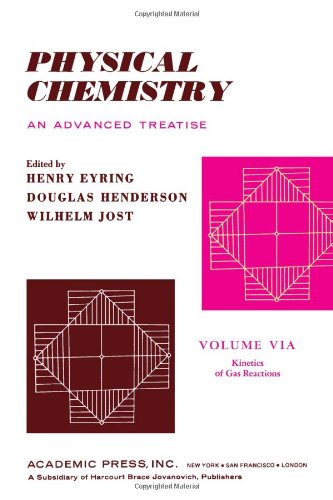 9780122456060: Physical Chemistry. An Advanced Treatise. Volume VIA: Kinetics of Gas Reactions (v. 6A)
