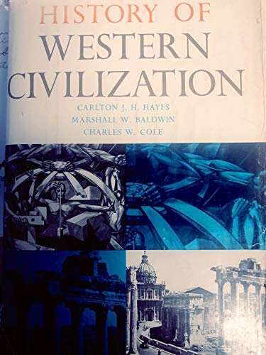 9780122502699: History of Western Civilization