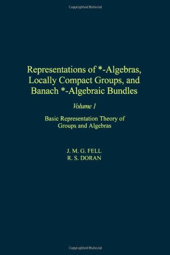 9780122527210: Representations of *-Algebras, Locally Compact Groups, and Banach *-Algebraic Bundles, Volume 1: Basic Representation Theory of Groups and Algebras