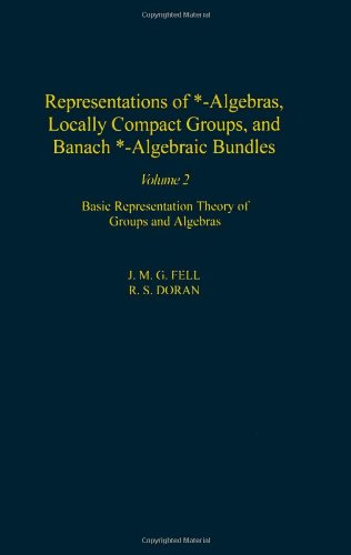 9780122527227: Representations of *-Algebras, Locally Compact Groups, and Banach *-Algebraic Bundles, Volume 2: Banach *-Algebraic Bundles, Induced Representations, ... Analysis (Pure and Applied Mathematics)