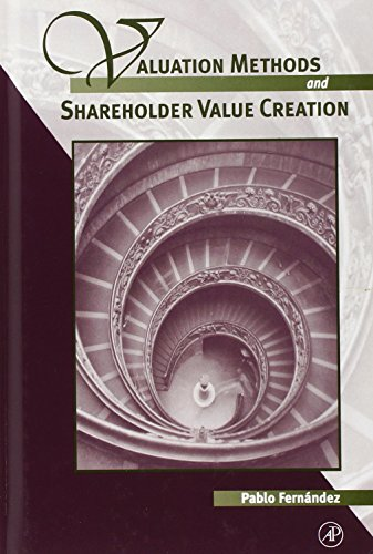 9780122538414: Valuation Methods and Shareholder Value Creation
