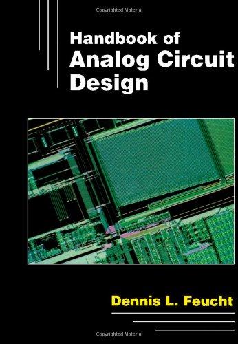 9780122542404: Handbook of Analogue Circuit Design