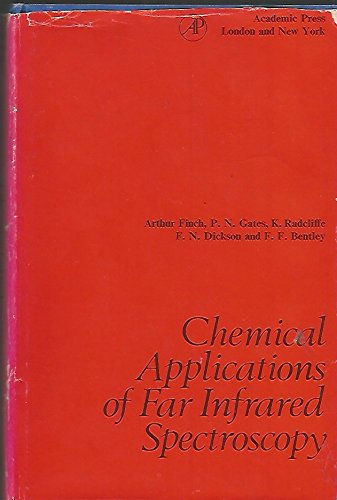 9780122563508: Chemical Applications of Far Infrared Spectroscopy