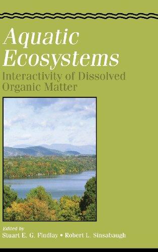 9780122563713: Aquatic Ecosystems: Interactivity of Dissolved Organic Matter (Aquatic Ecology)
