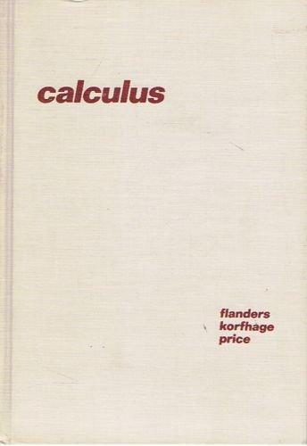 9780122596407: Calculus