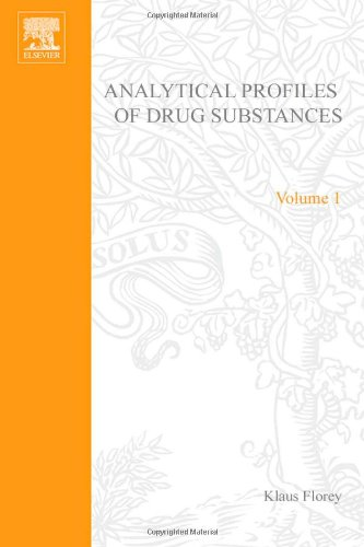 9780122608018: Analytical Profiles of Drug Substances: v. 1