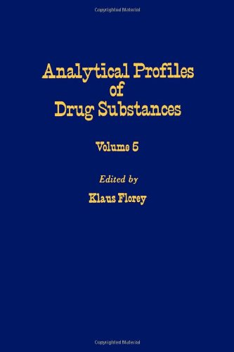 9780122608056: Profiles of Drug Substances, Excipients and Related Methodology vol 5, Volume 5 (v. 5)