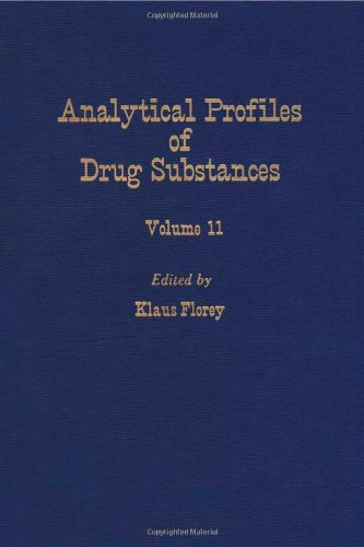 9780122608117: Profiles of Drug Substances, Excipients and Related Methodology vol 11, Volume 11 (Analytical Profiles of Drug Substances & Excipients)