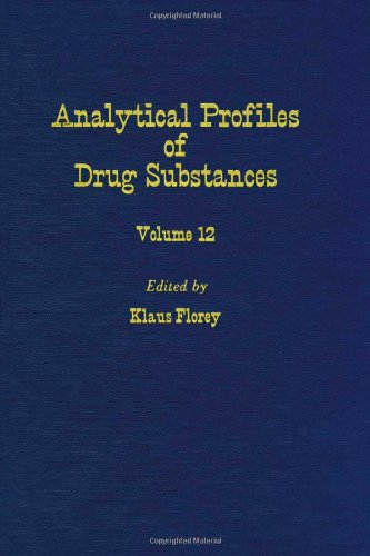 9780122608124: Profiles of Drug Substances, Excipients and Related Methodology (Analytical Profiles of Drug Substances, Excipients, and Related Methodology, Vol. 12)
