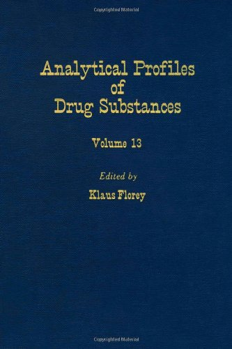 9780122608131: Profiles of Drug Substances, Excipients and Related Methodology (Analytical Profiles of Drug Substances, Excipients, and Related Methodology, Vol. 13 )