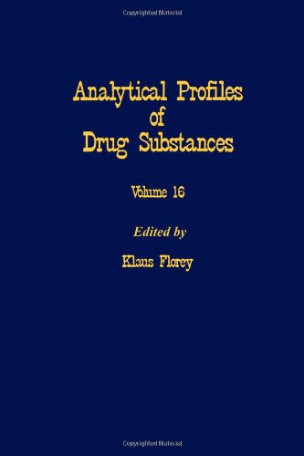 9780122608162: Profiles of Drug Substances, Excipients and Related Methodology vol 16, Volume 16 (Analytical Profiles of Drug Substances, Excipients, and Related Methodology)