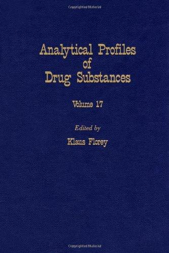 9780122608179: Analytical Profiles of Drug Substances: v. 17 (Analytical Profiles of Drug Substances, Excipients, and Related Methodology)
