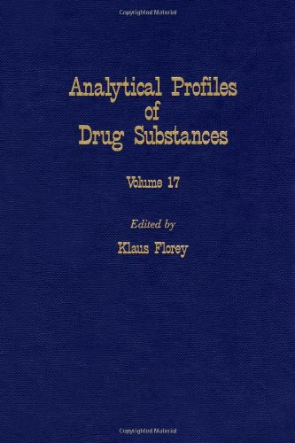 9780122608179: Profiles of Drug Substances, Excipients and Related Methodology vol 17, Volume 17 (Analytical Profiles of Drug Substances, Excipients, and Related Methodology)