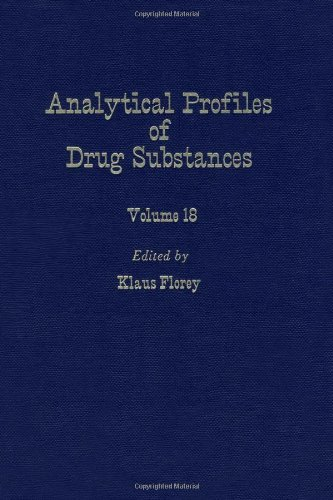 9780122608186: Profiles of Drug Substances, Excipients and Related Methodology (Analytical Profiles of Drug Substances, Excipients, and Related Methodology, Vol. 18)