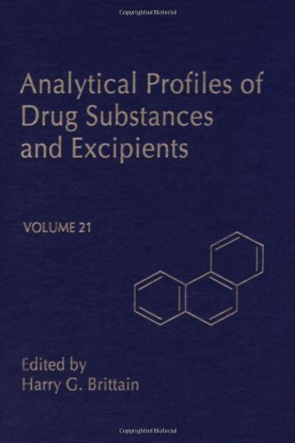 9780122608216: Analytical Profiles of Drug Substances and Excipients, Vol. 21
