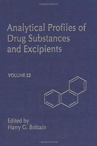 9780122608223: Analytical Profiles of Drug Substances and Excipients, Volume 22