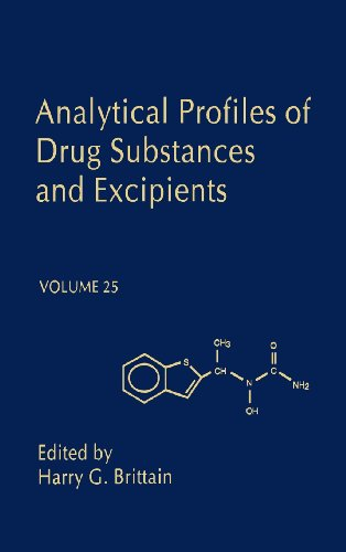 9780122608254: Analytical Profils of Drug Substances and Excipients: Vol 25 (Profiles of Drug Substances, Excipients, and Related Methodology)