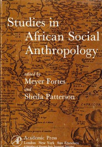 9780122622502: Studies in African Social Anthropology