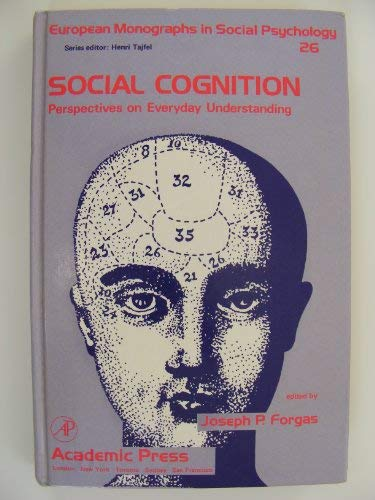 9780122635601: Social Cognition: Perspectives on Everyday Understanding (European Monographs in Social Psychology)