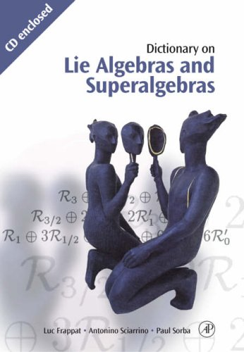 9780122653407: Dictionary of Lie Algebras and Superalgebras