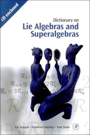 9780122653407: Dictionary on Lie Algebras and Superalgebras