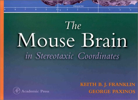 9780122660702: The Mouse Brain in Sterotaxic Coordinates