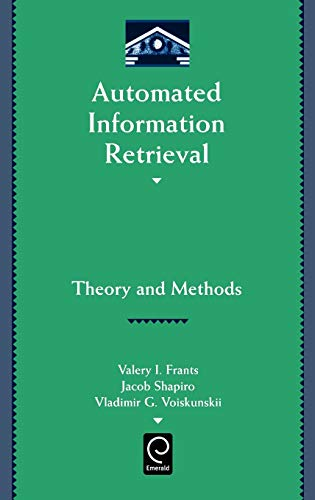 9780122661709: Automated Information Retrieval (Library and Information Science) (Library and Information Science) (Library and Information (Hardcover))