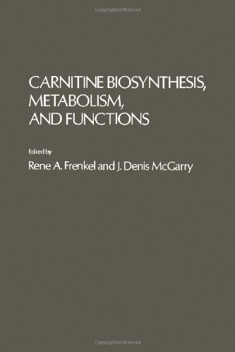 9780122670602: Carnitine Biosynthesis, Metabolism and Functions