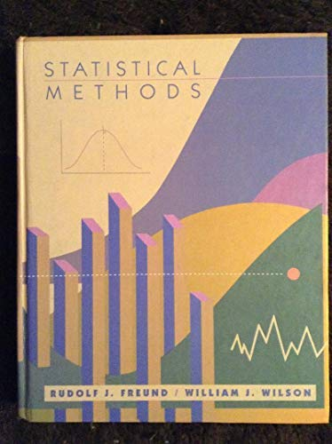 9780122674709: Statistical Methods