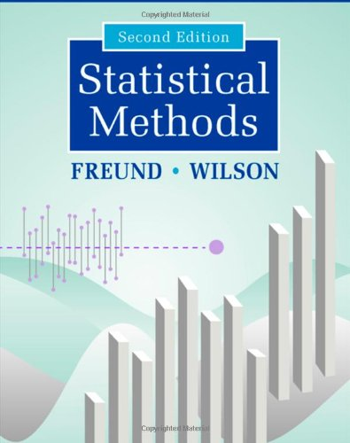 9780122676512: Statistical Methods, Second Edition