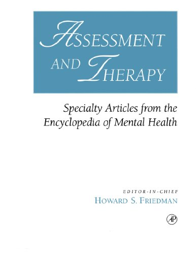 9780122678066: Assessment and Therapy: Specialty Articles from the Encyclopedia of Mental Health