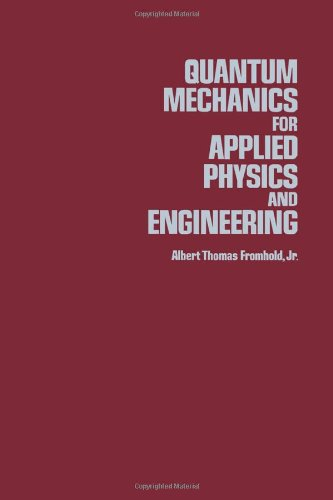 9780122691508: Quantum Mechanics for Applied Physics and Engineering