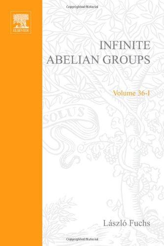 9780122696015: Infinite Abelian Groups, Volume 1, Volume 36-I (Pure and Applied Mathematics)