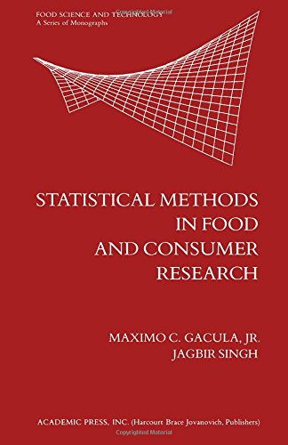 9780122720505: Statistical Methods in Food and Consumer Research (Food Science and Technology)